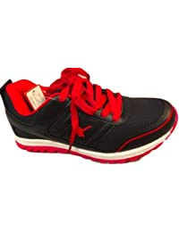 Sparx Men's Black Synthetic Sports Running Shoes - 7