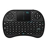 Rii Mini i8 Wireless (AZERTY) - Mini Clavier français, Ergonomique sans Fil avec...
