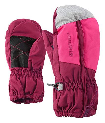 Ziener Baby LUANO Minis Glove Ski-Handschuhe, Plumberry, 80cm