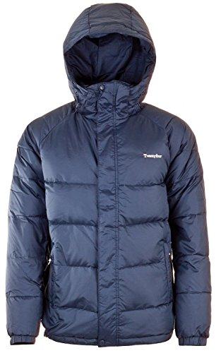 Twentyfour Jungen Jacke Seven Daunen, 152 (Herstellergröße: 12 Jahre), Blau (Dark Marine) (Schnee Jacke Proof)