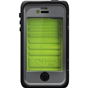Otterbox Armor Serie, Schutzhülle für das Apple iPhone 4/4s, Grau/Grün