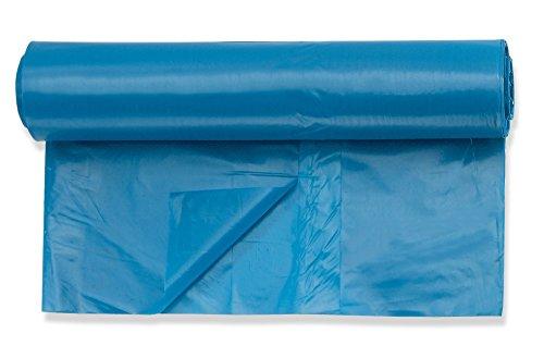 25 Stück Müllsäcke / Abfallsäcke 120 L, extra stark, sehr reißfest, 80 my, auf Rolle