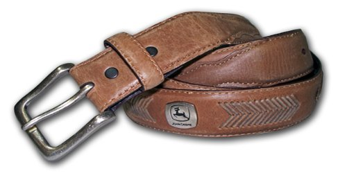 John Deere Men's Concho Ornamented Casual Belt - John Deere 54