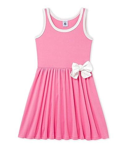 Petit Bateau Girl's Dress, Pink (Petal), 8 Years