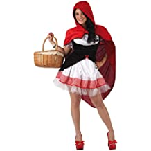 Atosa - Disfraz Caperucita Roja para mujer a partir de 18 años, Talla: 38-40 (5945)