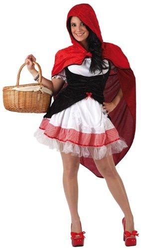 Imagen de atosa  disfraz caperucita roja para mujer a partir de 18 años, talla 38 40 5945
