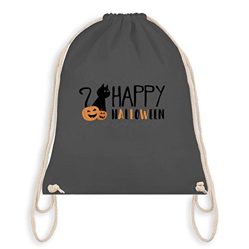 Halloween - Happy Halloween - Turnbeutel I Gym Bag Dunkelgrau