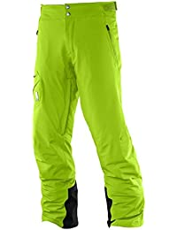 Salomon Whitelight M Pantalón de Esquí, Hombre, Verde (Granny Green), S