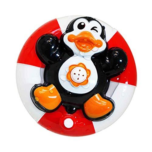 jieGREAT❤❃ Puzzle Spielzeug ❤❃ Spray Wasser Baby Badespielzeug,Wasserpumpe Elektronische Spray Spielzeug Float Drehen Badespielzeug
