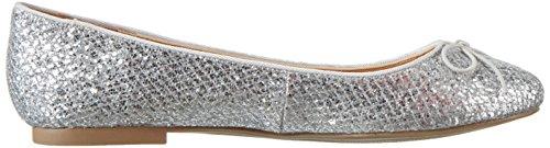Aldo Adreanna Damen Geschlossene Ballerinas Silber (Silver / 81)