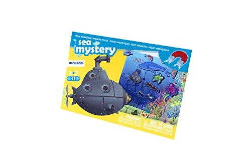 Miniland Miniland31973 on The go Discover Sea Mistery Juegos magnéticos (31973)