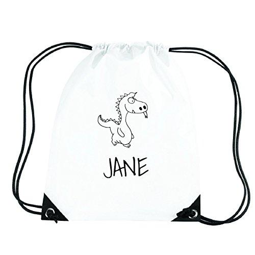 JOllipets Jane Turnbeutel Sport Tasche PGYM5454 - Design: Drache (Drache Jane)
