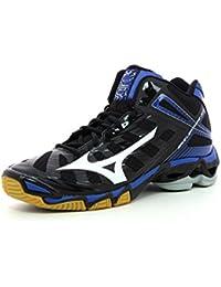 Mizuno Sneakers Indoor Wave Lightning RX2 Mid Bianco/Nero EU 50 (UK 14) Ver En Línea Barato fF8HKR1kA