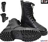 BOLT R50 COMBAT WATERPROOF MOTORCYCLE MOTORBIKE GOTH LACES UP MILITARY STYLE ARMY BOOTS