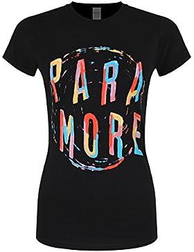 Paramore Camiseta - Estampado - Manga Corta - Para Mujer