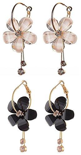 YouBella Jewellery Gold Plated Fancy Party Wear Earrings for Girls and Women...