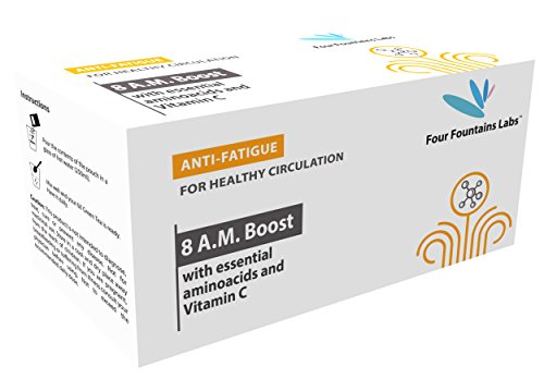 Four Fountains Labs, 8 A.M. Boost for improved Blood Circulation, Reducing Fatigue and Boosting Energy (Pack of 30 - 1 month supply)
