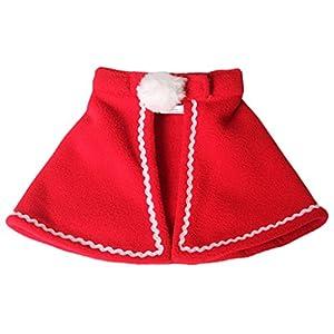 MagiDeal Manteau de Chien Chat à Scratch Vêtement pour Chien Capuchon Décoration de Noël Halloween