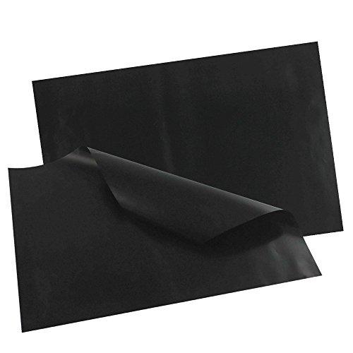 COM-FOUR® 2x Dauerbackfolie, Antihaftbeschichtet - Beidseitig, 33 x 40 cm