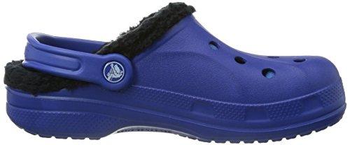 Crocs Baya Lined, Sabots mixte adulte Bleu (Cerulean Blue/Black)