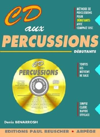 Partition : CD aux percussions