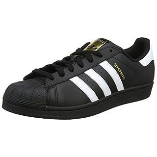 adidas Originals Superstar Foundation B27140, Herren Low-Top Sneaker, Schwarz (Core Black/Ftwr White/Core Black), EU 39 1/3