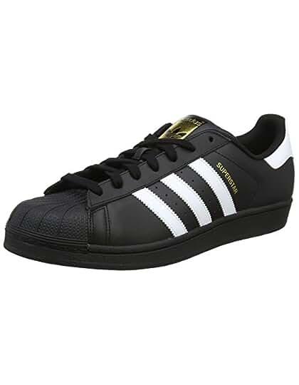 new concept 76c58 c607c Adidas Superstar, Scarpe da skateboard Unisex adulto, Bianco, 39 1 3