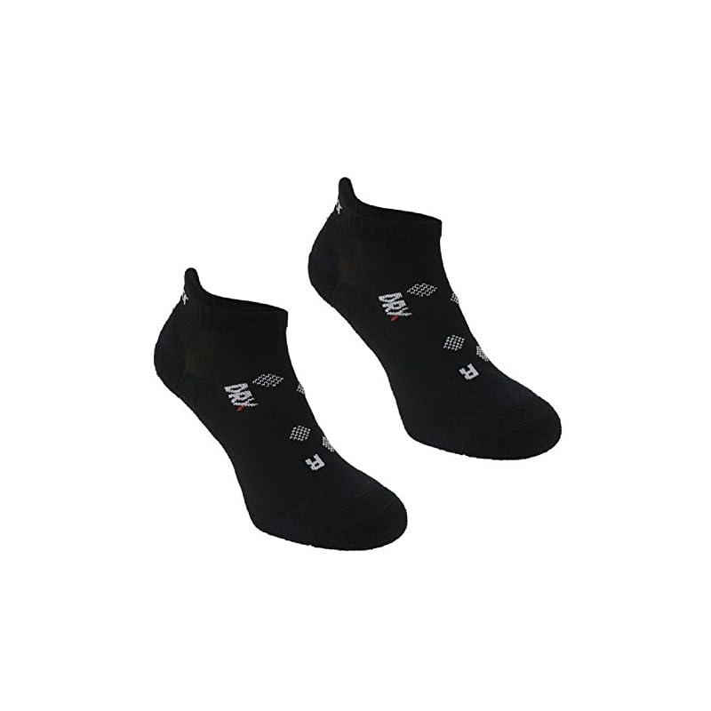 Karrimor 2 Pack Womens Running Trainer Ankle Socks Ladies Black Size 4-8