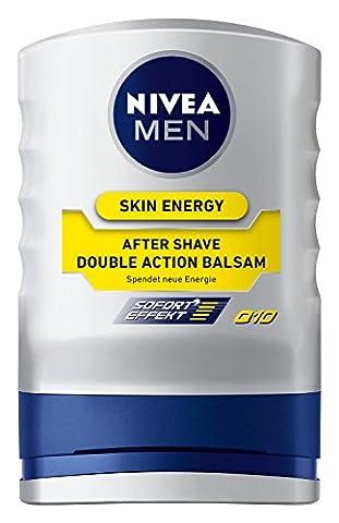 Nivea Men Skin Energy After Shave Balsam Double Action Q10, 1er pack (1 x 100 ml)