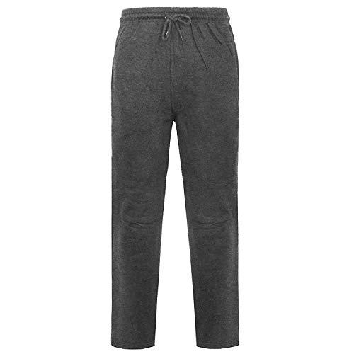 Mymixtrendz. Men Jogging Sweat Pants Fleece Elasticated Waist Open Hem Cuffs Gym Active Sports Pants/Jogging Bottoms Trousers 20 Fleece Open Bottom Pants