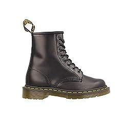 Dr. Martens 1460 Smooth 59 Last BLACK, Unisex-Erwachsene Bootsschuhe, Schwarz (Black), 38 EU (5 Erwachsene UK)