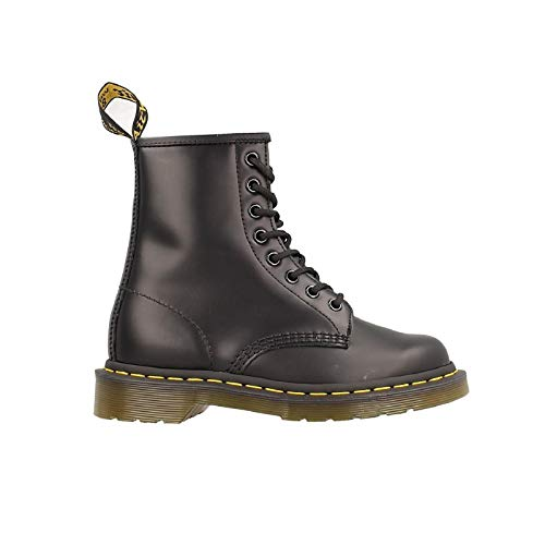 Dr. Martens 1460 Smooth, Stivali Unisex – Adulto, Nero (Black Smooth), 44