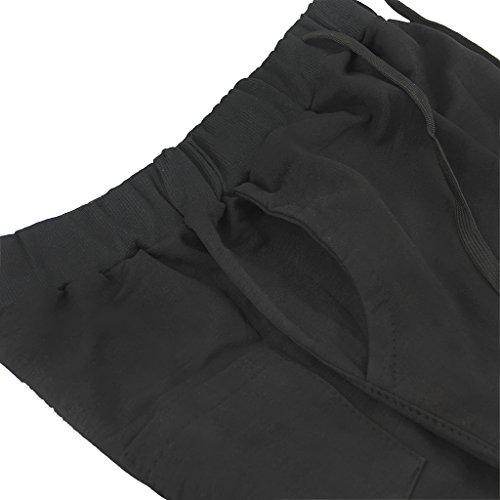 Herren Badeshorts Große Größen Badehose Kurz Schwimmhose Männer Schwarz Dunkelblau Grau Übergrößen 3X Schwarz4