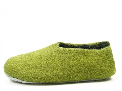 Pantofole Da Donna Rohde 7980 Nepal Verde