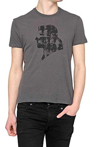 Karl Lagerfeld Herren T-shirt Model: 5C270S 92050 828 Grau Anthrazit