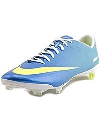 new products 5d8e6 f71de Nike Mercurial Vapor Ix Fg Celeste Giallo Fluo - Tasselli Fissi Adulto 41