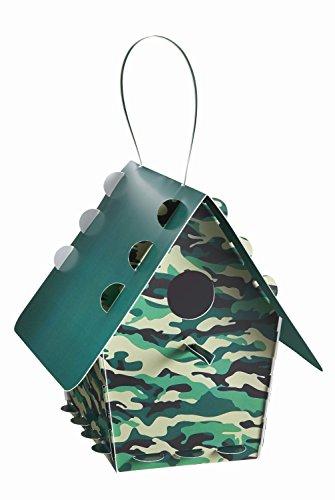 Troppenz Bachmann TT16 - Vogelhaus tweet tweet Home klassisch, camouflage/grün