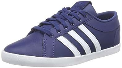adidas Adria PS 3S, Damen Sneakers, Blau (Oxford Blue F15-St/Ftwr White/Corn Yellow F15-St), 37 1/3 EU