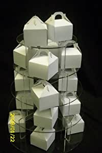 CUP CAKE BOXES BY SONTANA , 100 just £12.99 Wedding Favour Boxes (Flat Packed)