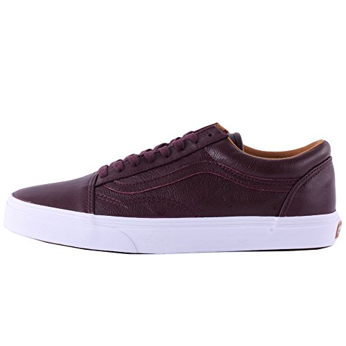 Vans U Old Skool, Chaussures de Sport Mixte Adulte Bordeaux