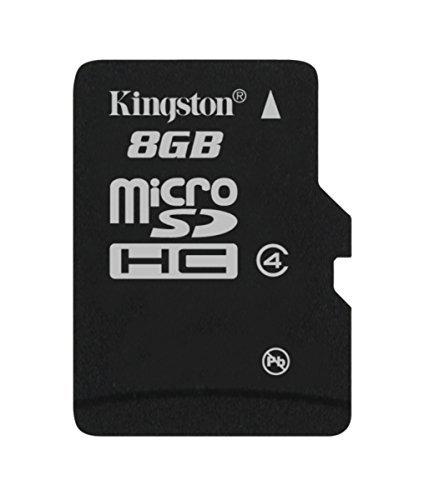 Kingston Digital 8GB microSDHC Class 4 Flash Memory Card SDC4 8GBSP  available at amazon for Rs.407