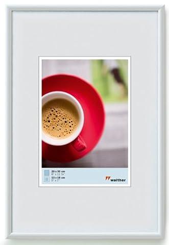Walther KW028H Galeria Kunststoffrahmen im Format 20 x 28 weiß