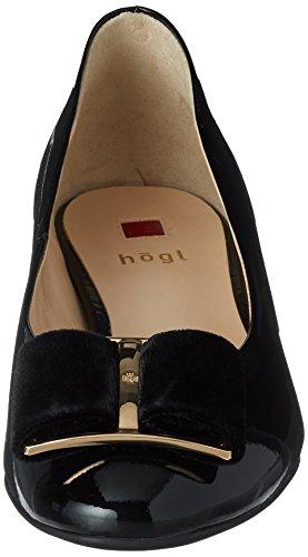 Högl 4-10 3084 0100, Scarpe con Tacco Donna Nero (Schwarz)