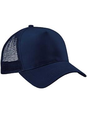 Beechfield Media Malla Trucker gorra de béisbol