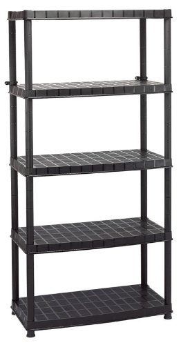 Draper 23232 5 Tier Plastic Shelving Unit -