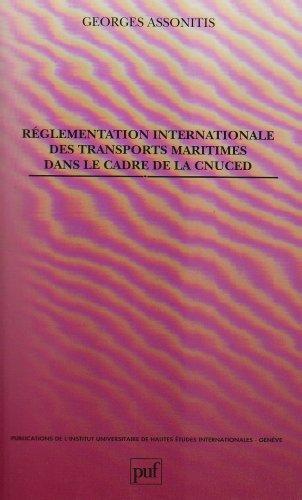 Rglementation internationale des transports maritime, 1re dition