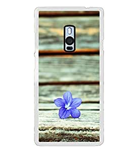 A flower 2D Hard Polycarbonate Designer Back Case Cover for OnePlus 2 :: OnePlus Two :: One +2