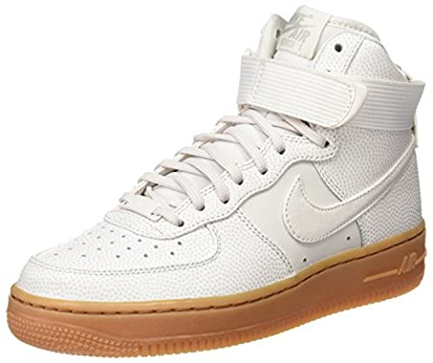 Nike Damen Wmns Air Force 1 HI SE Kurzschaft Stiefel, Weiß (Phantom/Phantom/Light Iron Ore),40 EU
