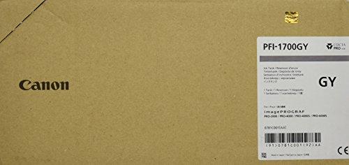 Preisvergleich Produktbild CANON PFI-1700 Tinte grau Standardkapazität 700ml 1er-Pack iPF Pro2000/4000/4000S/6000S