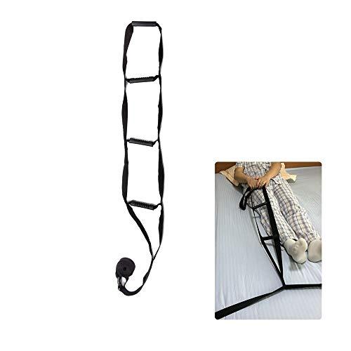 Bett Unterstützun Geräte Verstellbarer Bett Schiene Gitter Assistenz Bettleiter-Hebebühnen Griffe Medizinische Sicherheit Hochziehseilheber Caddy für Erwachsene ältere Menschen Behinderte Handicap -